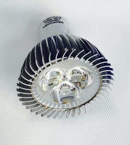 foco led gu10 4.5w empotrable lampara spot dirigible