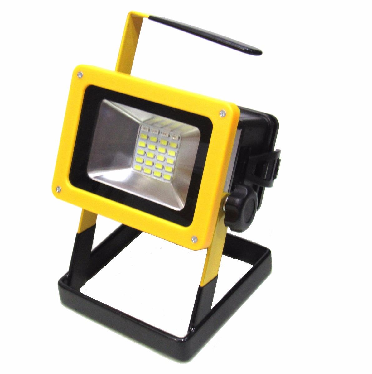foco led portatil recargable 30w emergencia fernapet