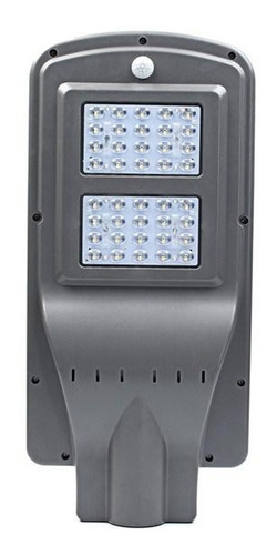 foco led solar 40w luminaria panel sensor  movimiento ml2955
