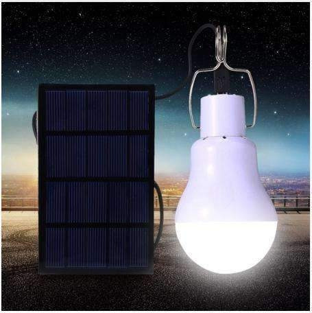 foco led solar recargable portatil camping blanco 3w 3859 /e