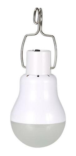 foco led solar recargable portatil camping blanco /e