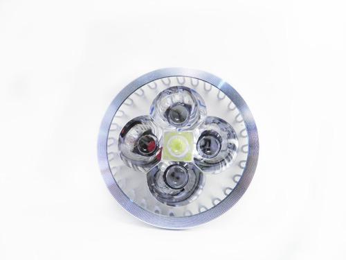 foco led tipo spot 5 leds gu10 de 4 watts en calido o frio