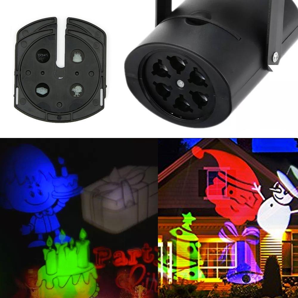 b2bf4f39a27 Foco Luz Proyector Led De Navidad Y Cumpleaños 6 Leds -   7.990 en ...
