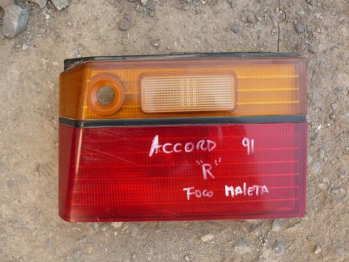 foco maleta accord 1991  trs der c/daños - lea descripción