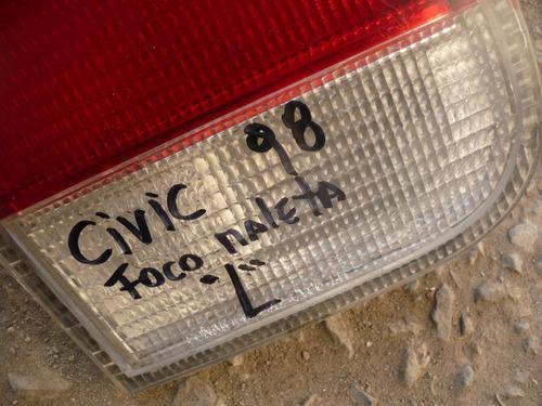 foco maleta  civic 1998 trs izq detalles- lea descripción