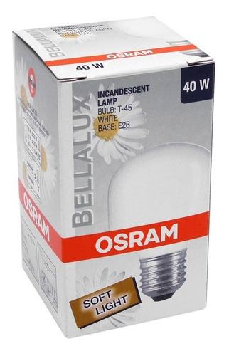 foco marca osram bellalux 40w e-26 incandescente