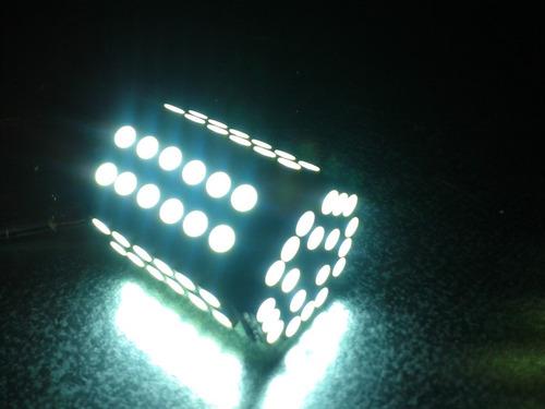 foco microled - 2 focos 1156 80 smd 3528 led xenon blanco12v