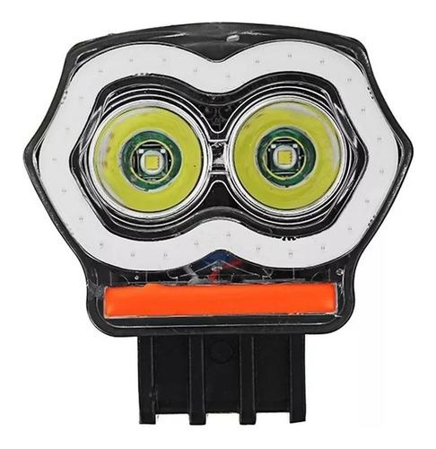 foco neblinero 20w alto baja flash ojo angel auto moto /6067