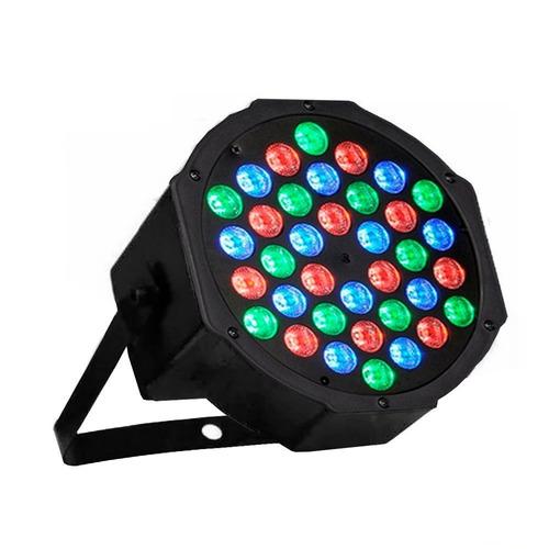 foco par led 36 dmx alto brillo rgb disco fiesta luces