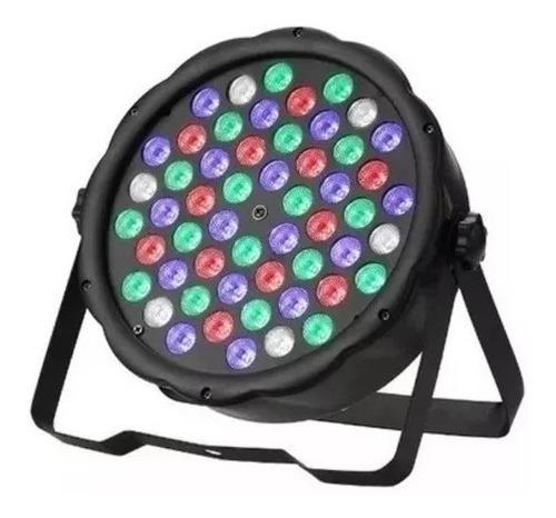 foco par led 54 dmx brillo rgb disco fiesta luces  garantía