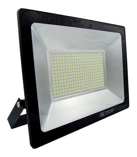 foco reflector led slim 100w para exterior 6500k - ynter