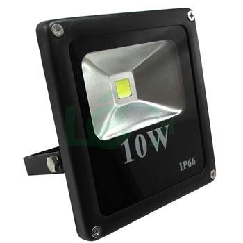 Foco reflector led slim 10w para exterior luz fr a 342 for Foco led exterior 10w