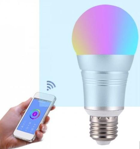 foco rgbw wi-fi inteligente google home, alexa control remot