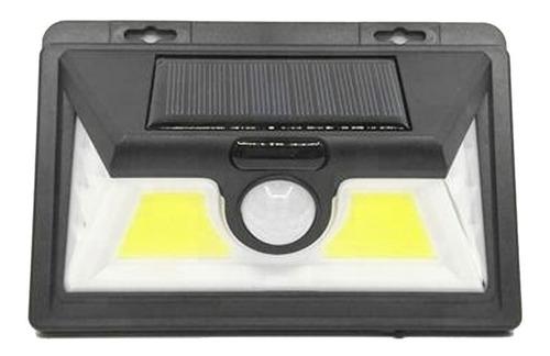 foco solar 30 led sensor de movimiento exterior jardin