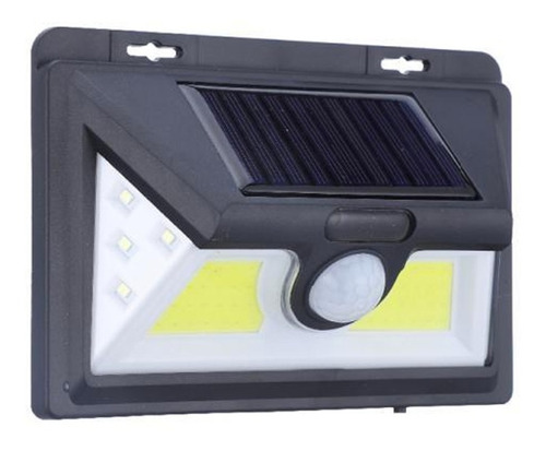 foco solar 30 led sensor de movimiento exterior nicehome
