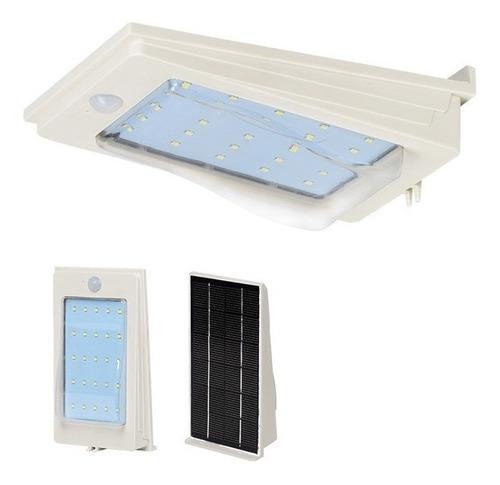 foco solar 3w. panel incluido