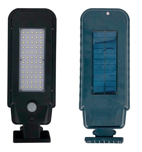 foco solar 60 led panel sensor movimiento ml00123