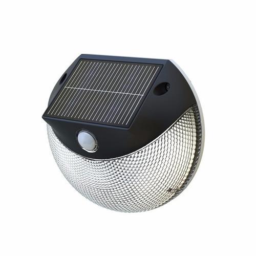 foco solar luz cálida y fría con sensor pir  200 lúmenes