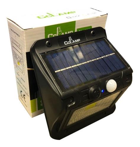foco solar luz led sensor movimiento outdoor potente ml2388