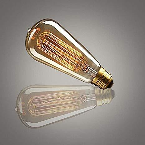 foco tipo flama filamento ad- 2950 40w retro vintage adir
