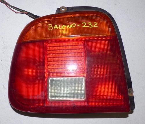 foco trasero izquierdo suzuki baleno sedan año 1996-2002