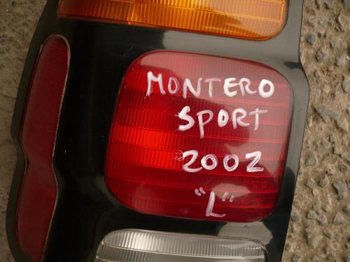 foco trs montero 2001 izq orig c/detalles- lea descripción