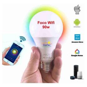 Foco Wifi Led, Alexa, Google Home, Ios / Android, 90 Watts