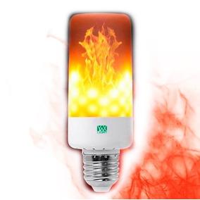 d692ad7a803 Foco Led Efecto Flama Fuego Focos Leds Ahorradores Casa 5w