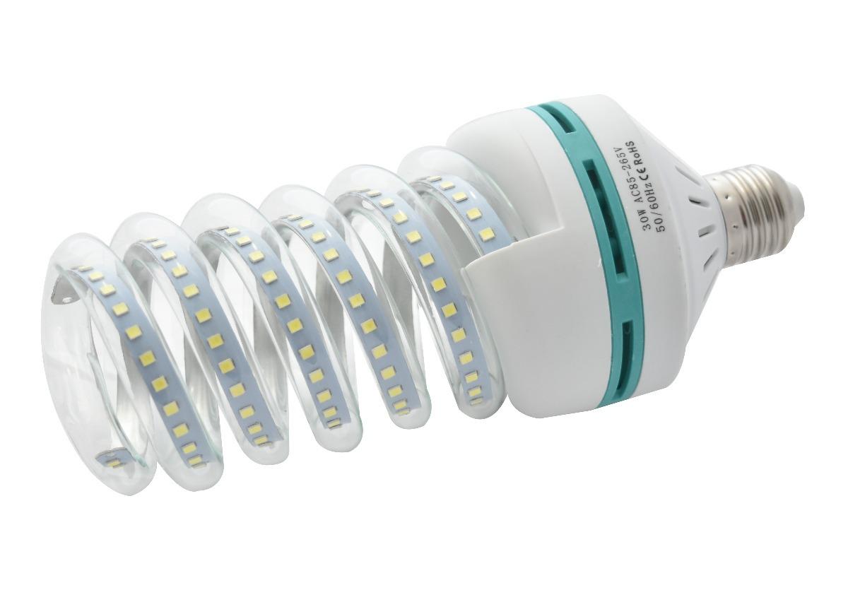 Focos ahorradores led casa luz blanca 30w 6000k e27 led09 - Luz led casa ...