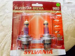 SYLVANIA 9003 SilverStar zXe High Performance Halogen  2 Headlight Bulbs 5752