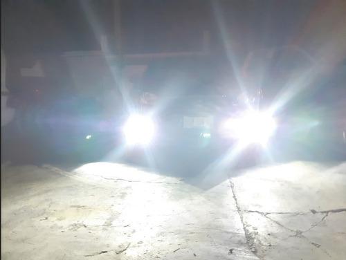 focos hyper led h11 h9 h8 antiniebla 6000 lúmenes luz blanca
