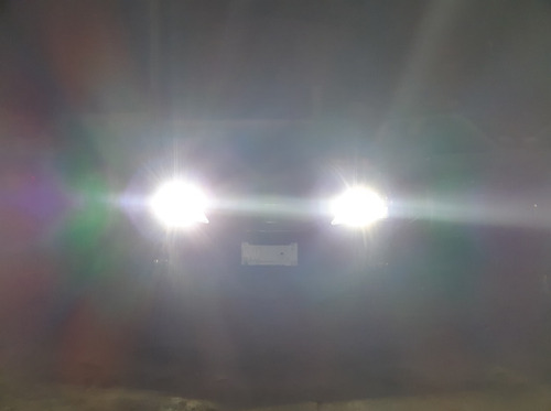focos hyper led h4/hb2 alta y baja 7000 lúmenes luz blanca