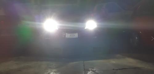 focos hyper led h7 6000 lúmenes luz blanca
