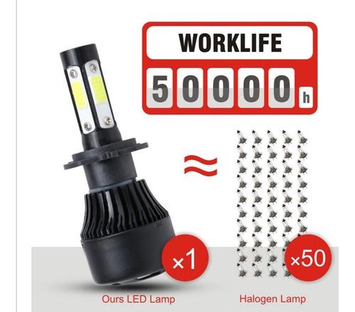 focos led 10.000 lumines. h1 h4 h7 h8 h11 h27 880 9005 9006