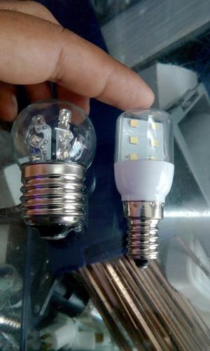 focos led blanco de refrigeradoras,congeladoras de 0.8w-220v