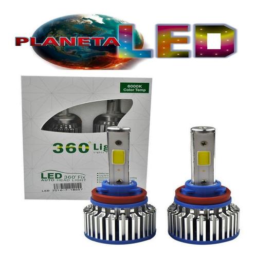 focos led luces h4 h1 h3 h7 h11 880 9005 9006 80w h poder