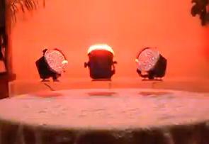 focos led strobe discos
