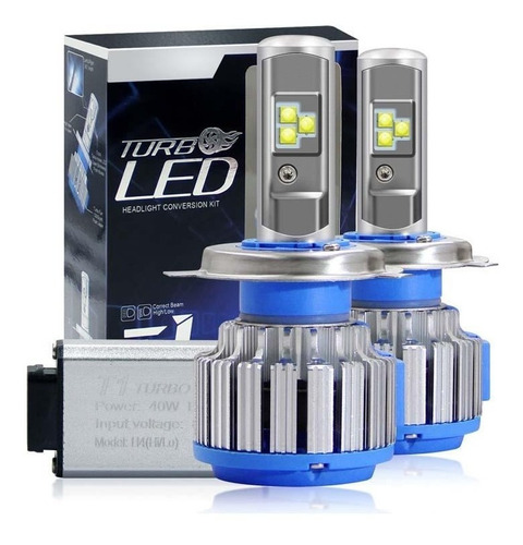 focos luces philips turbo led (15.000 lumens) h4,h7 (todos)