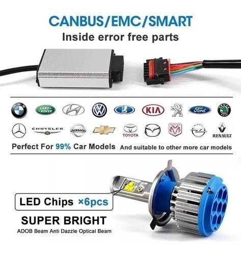 focos luces turbo led t1, 15.000 lumens, (garantia 3 años)