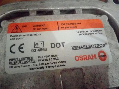 focos xenon d1s c/balastra marca osram