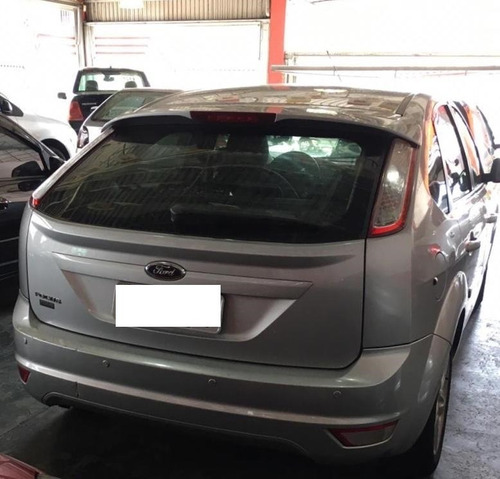 focus gl 1.6 - hatch - prata - 2012 - flex