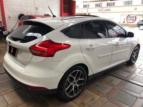 focus hatch titanium plus 2018 flex teto impecável unico don