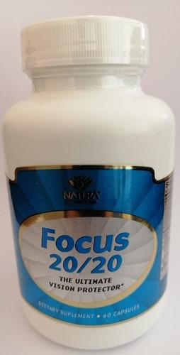 focus protector de visión  60 capsulas natura internacional