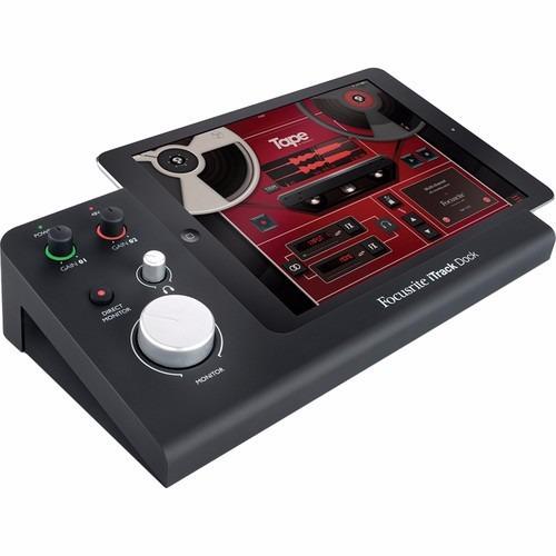 focusrite itrack dock professional - grabadora para ipad