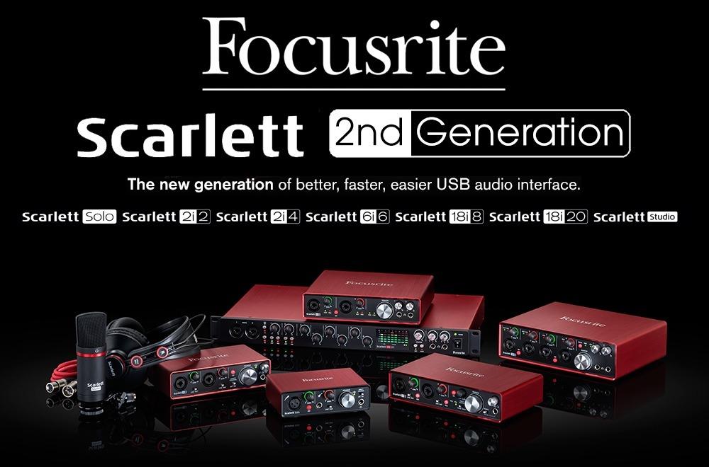 Bildergebnis für focusrite scarlett