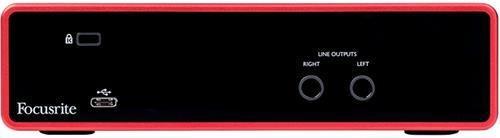 focusrite scarlett 2i2 3 gen placa de audio interface usb