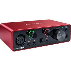 Focusrite Scarlett Solo 3nd Gen Interface Audio Modelo Novo