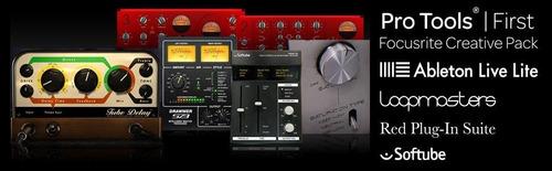 focusrite scarlett solo g2 placa de audio - facturas a y b