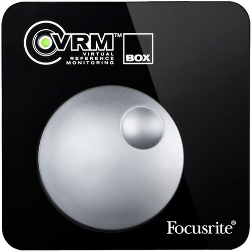 focusrite vrm box usb monitorizacion virtual por audifonos