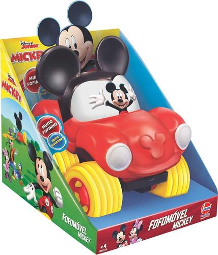 fofomóvel carro mickey disney pixar em vinil líder brinquedo